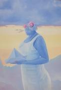Cesar Ramírez, El mar no existe, de Angela Villa